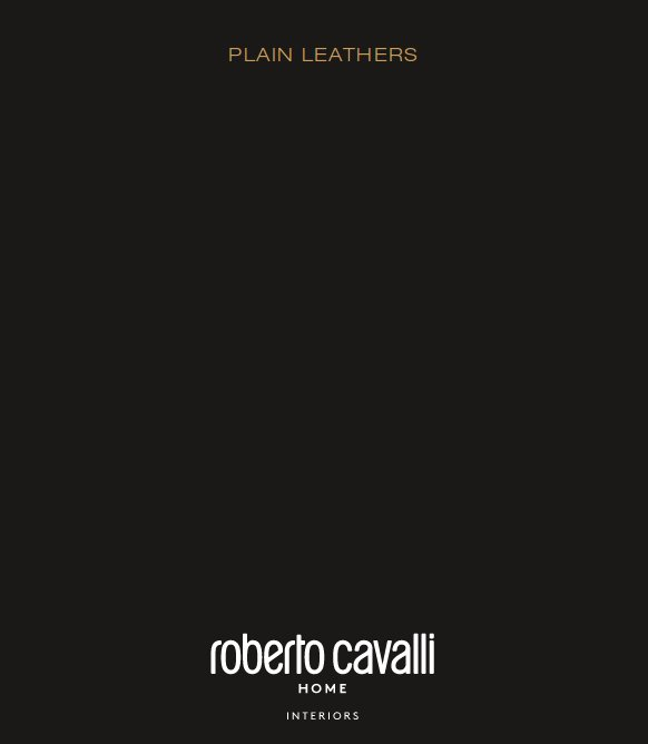 italy01 Technical Sheet Roberto Cavalli Home Interiors Leathers click to download