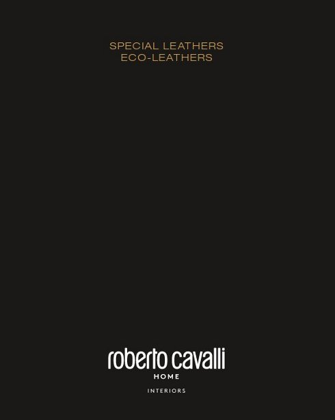 italy01 Roberto Cavalli Home Interiors download special leather upholstery catalog